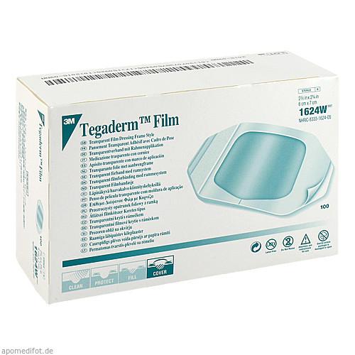 TEGADERM 3M Film 6x7 cm 1624W, 100 ST, 3M Medica Zwnl.d.3M Deutschl.GmbH