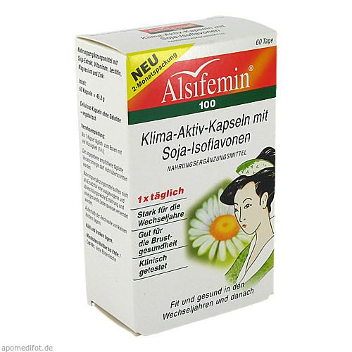 Alsifemin 100 Klima Aktiv m.Soja 1x1 Kapseln, 60 ST, Alsitan GmbH