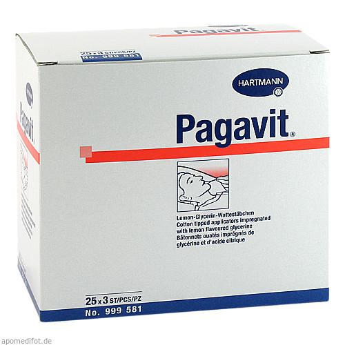 PAGAVIT LEMON GLYC WATTEST, 25X3 ST, Paul Hartmann AG