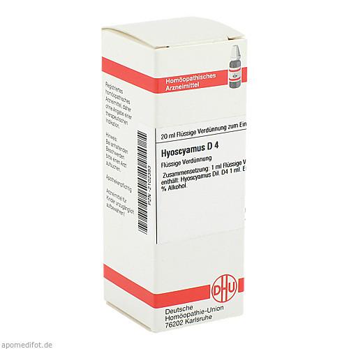HYOSCYAMUS D 4, 20 ML, Dhu-Arzneimittel GmbH & Co. KG