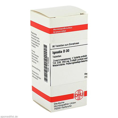 IGNATIA D30, 80 ST, Dhu-Arzneimittel GmbH & Co. KG