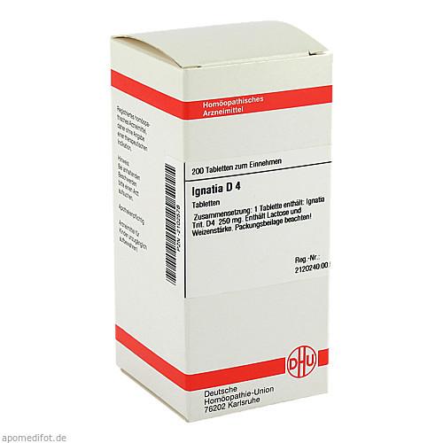 IGNATIA D 4, 200 ST, Dhu-Arzneimittel GmbH & Co. KG