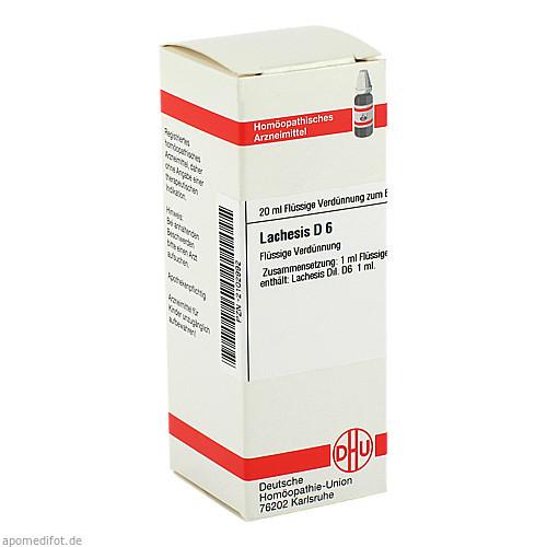 LACHESIS D 6, 20 ML, Dhu-Arzneimittel GmbH & Co. KG