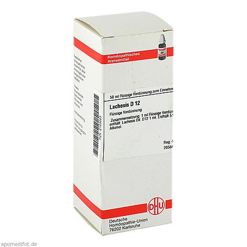 LACHESIS D12, 50 ML, Dhu-Arzneimittel GmbH & Co. KG