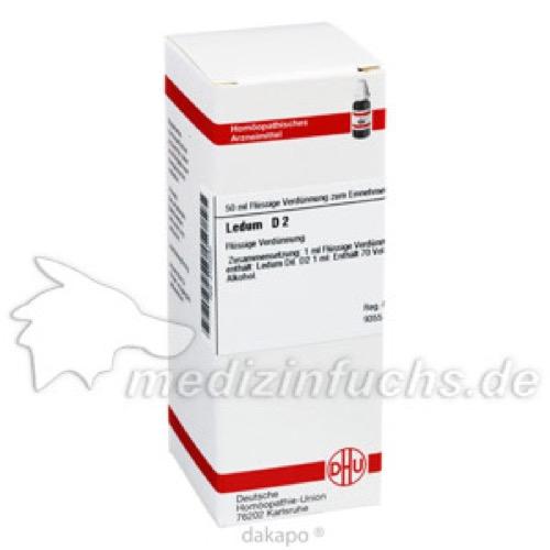 LEDUM D 2, 50 ML, Dhu-Arzneimittel GmbH & Co. KG