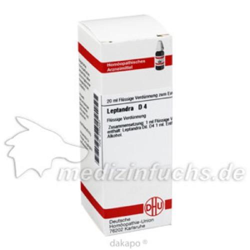 LEPTANDRA D 4, 20 ML, Dhu-Arzneimittel GmbH & Co. KG
