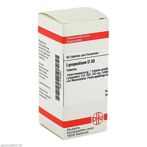 LYCOPODIUM D30, 80 ST, Dhu-Arzneimittel GmbH & Co. KG