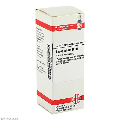 LYCOPODIUM D30, 20 ML, Dhu-Arzneimittel GmbH & Co. KG
