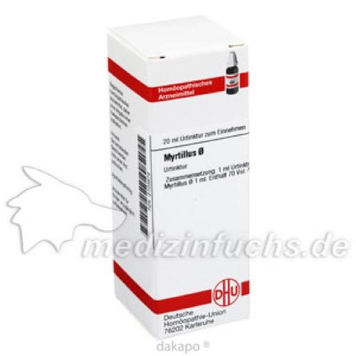 MYRTILLUS URT, 20 ML, Dhu-Arzneimittel GmbH & Co. KG