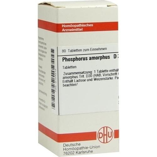 PHOSPHORUS AMORPH D30, 80 ST, Dhu-Arzneimittel GmbH & Co. KG