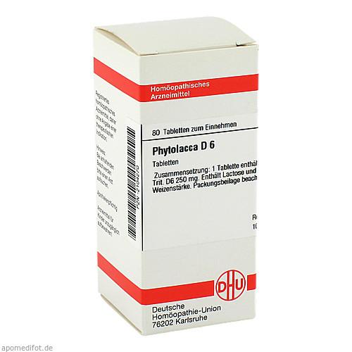 PHYTOLACCA D 6, 80 ST, Dhu-Arzneimittel GmbH & Co. KG