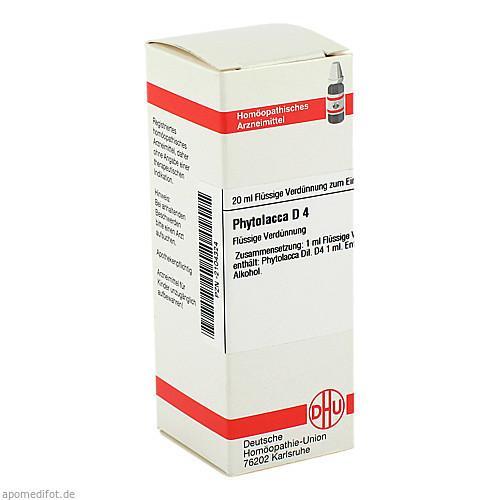 PHYTOLACCA D 4, 20 ML, Dhu-Arzneimittel GmbH & Co. KG
