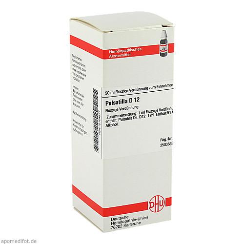 PULSATILLA D12, 50 ML, Dhu-Arzneimittel GmbH & Co. KG