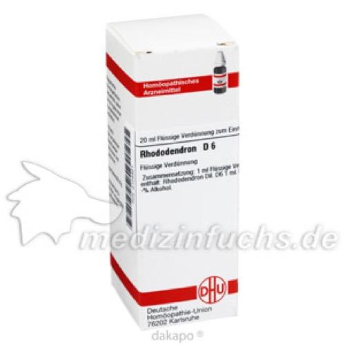 RHODODENDRON D 6, 20 ML, Dhu-Arzneimittel GmbH & Co. KG