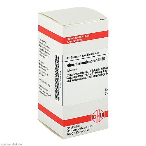RHUS TOX D30, 80 ST, Dhu-Arzneimittel GmbH & Co. KG