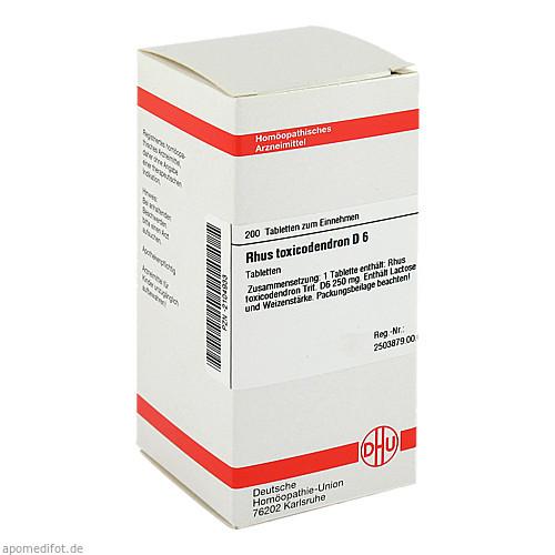 RHUS TOX D 6, 200 ST, Dhu-Arzneimittel GmbH & Co. KG