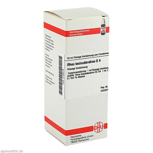 RHUS TOX D 4, 50 ML, Dhu-Arzneimittel GmbH & Co. KG