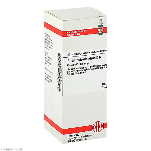 RHUS TOX D 6, 50 ML, Dhu-Arzneimittel GmbH & Co. KG