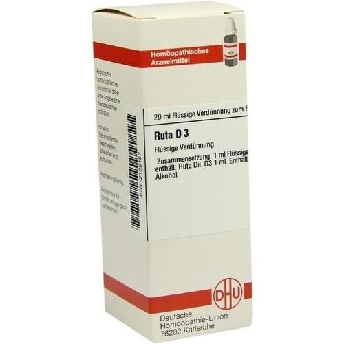 RUTA D 3, 20 ML, Dhu-Arzneimittel GmbH & Co. KG