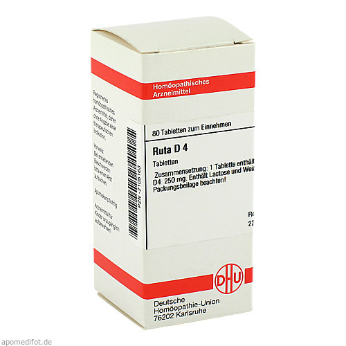 RUTA D 4, 80 ST, Dhu-Arzneimittel GmbH & Co. KG