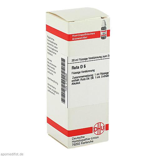 RUTA D 6, 20 ML, Dhu-Arzneimittel GmbH & Co. KG