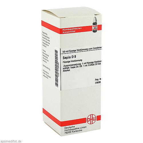 SEPIA D 8, 50 ML, Dhu-Arzneimittel GmbH & Co. KG