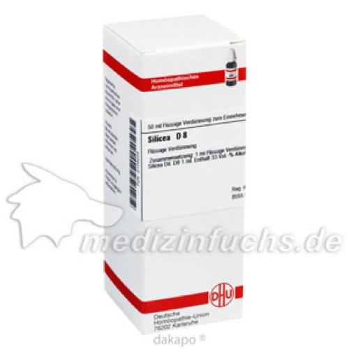SILICEA D 8, 50 ML, Dhu-Arzneimittel GmbH & Co. KG