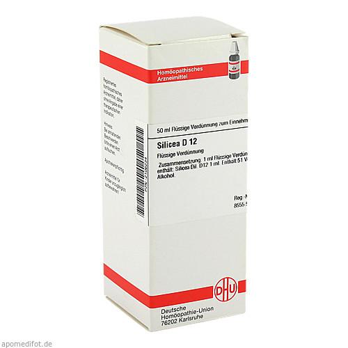 SILICEA D12, 50 ML, Dhu-Arzneimittel GmbH & Co. KG