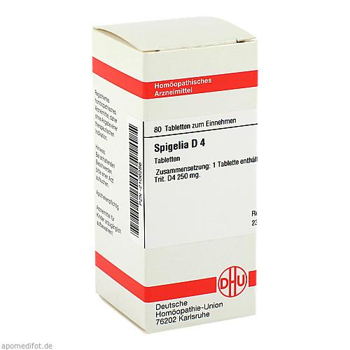SPIGELIA D 4, 80 ST, Dhu-Arzneimittel GmbH & Co. KG