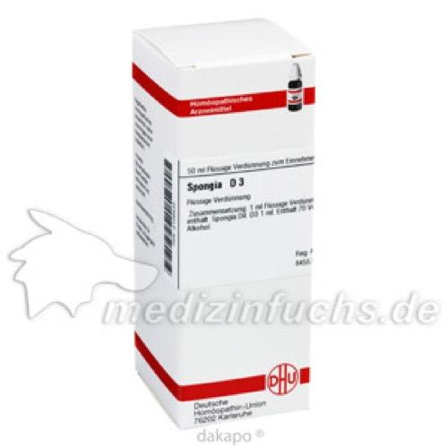 SPONGIA D 3, 50 ML, Dhu-Arzneimittel GmbH & Co. KG