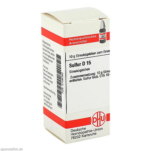 SULFUR D15, 10 G, Dhu-Arzneimittel GmbH & Co. KG