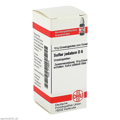 SULFUR JODAT D 6, 10 G, Dhu-Arzneimittel GmbH & Co. KG