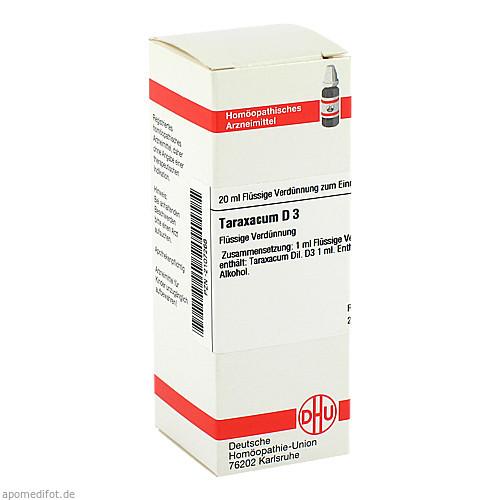 TARAXACUM D 3, 20 ML, Dhu-Arzneimittel GmbH & Co. KG