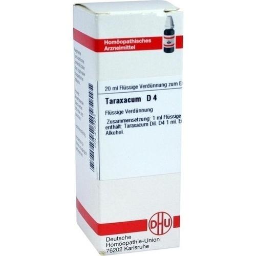 TARAXACUM D 4, 20 ML, Dhu-Arzneimittel GmbH & Co. KG