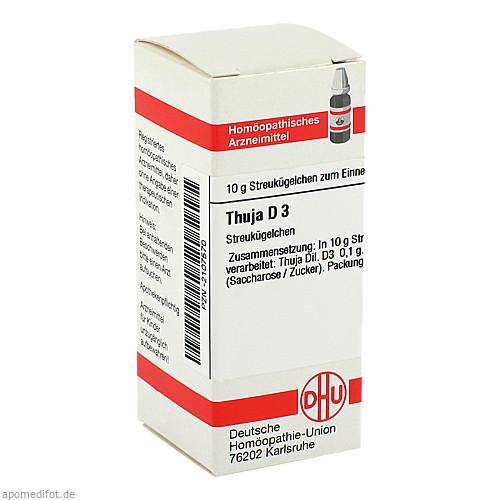 THUJA D 3, 10 G, Dhu-Arzneimittel GmbH & Co. KG