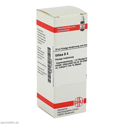 URTICA D 4, 20 ML, Dhu-Arzneimittel GmbH & Co. KG