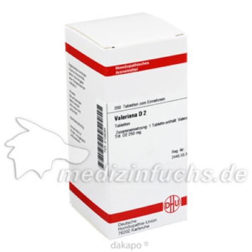 VALERIANA D 2, 200 ST, Dhu-Arzneimittel GmbH & Co. KG