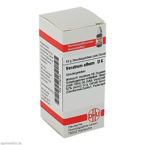 VERATRUM ALB D 6, 10 G, Dhu-Arzneimittel GmbH & Co. KG