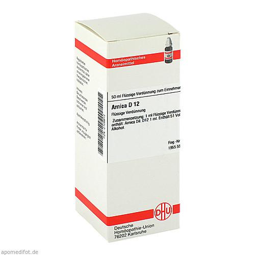 ARNICA D12, 50 ML, Dhu-Arzneimittel GmbH & Co. KG