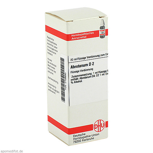 ABROTANUM D 2, 20 ML, Dhu-Arzneimittel GmbH & Co. KG