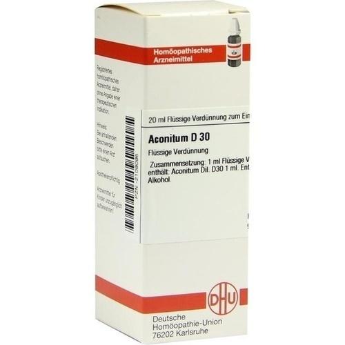 ACONITUM D30, 20 ML, Dhu-Arzneimittel GmbH & Co. KG
