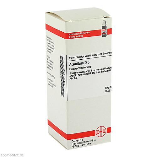 ACONITUM D 6, 50 ML, Dhu-Arzneimittel GmbH & Co. KG