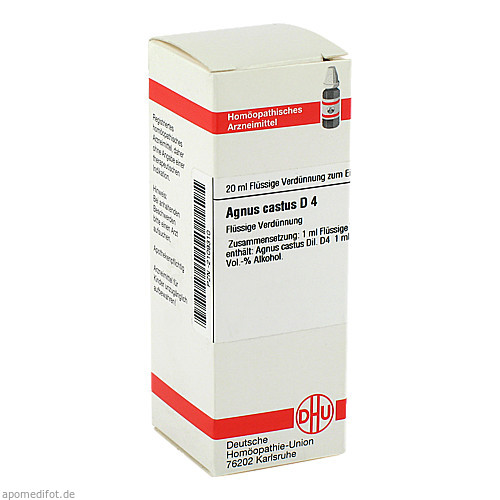 AGNUS CASTUS D 4 Dilution, 20 ML, DHU-Arzneimittel GmbH & Co. KG