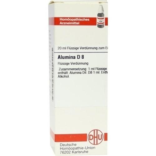 ALUMINA D 8, 20 ML, Dhu-Arzneimittel GmbH & Co. KG