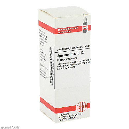 APIS MELLIFICA D12, 20 ML, Dhu-Arzneimittel GmbH & Co. KG