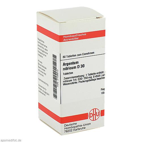 ARGENTUM NITR D30, 80 ST, Dhu-Arzneimittel GmbH & Co. KG