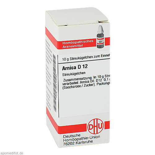 ARNICA D12, 10 G, Dhu-Arzneimittel GmbH & Co. KG