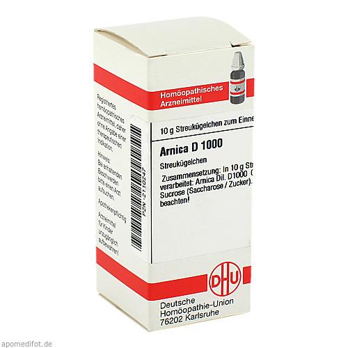 ARNICA D1000, 10 G, Dhu-Arzneimittel GmbH & Co. KG