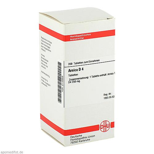 ARNICA D 4, 200 ST, Dhu-Arzneimittel GmbH & Co. KG