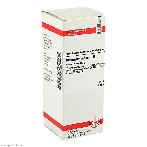 ARSENICUM ALB D 6, 50 ML, Dhu-Arzneimittel GmbH & Co. KG
